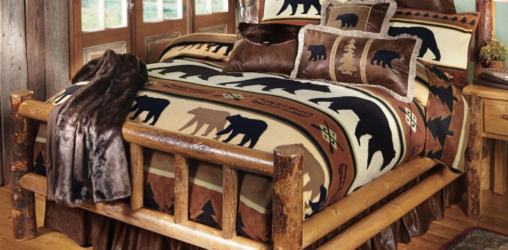 Fun Bedroom Furniture Styles To Consider Log Beds, Platform King Beds And More