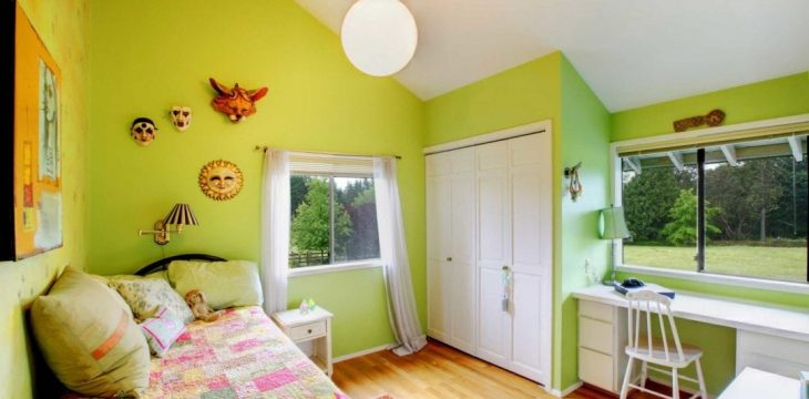 Fun Paint Ideas for a Girls Bedroom