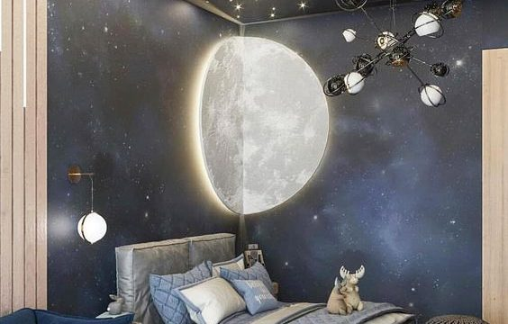 Deep Space Furniture Bed Design For Kids